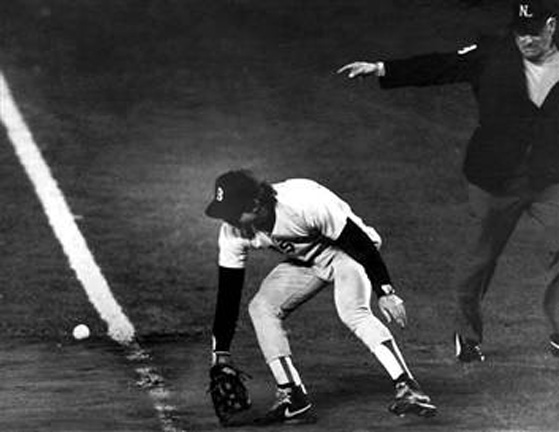 Buckner Error in 1986 World Series