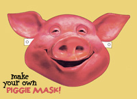 Make your own Piggie Mask!