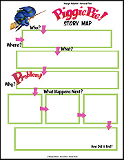 Piggie Pie Story Map