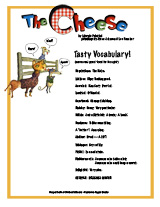 The Cheese Tasty Vocabulary
