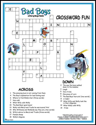 Bad Boys - Crossword Puzzle