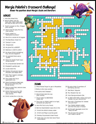 Palatini - Crossword Challenge